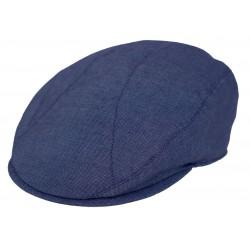 Navy flatcap